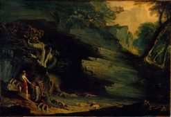 Cadmus and the Dragon | John Martin | Oil Painting
