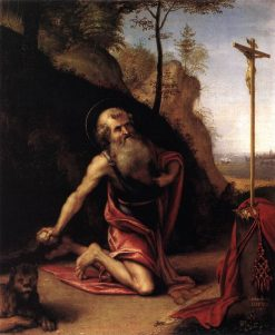 The Penitent Saint Jerome | Lorenzo Lotto | Oil Painting