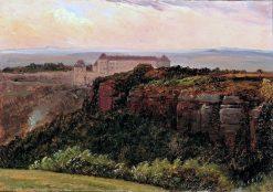 Sonnenstein Castle near Pirna | Carl Gustav Carus | Oil Painting