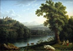 River Landscape | Jakob Philipp Hackert | Oil Painting