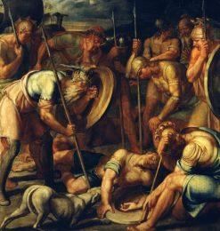The Death of Oskar (According to Ossian) | Joseph Anton Koch | Oil Painting