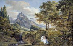 Arcadian Landscape | Joseph Anton Koch | Oil Painting