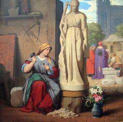 Sabina of Steinbach | Moritz von Schwind | Oil Painting