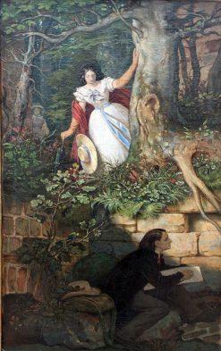 The Painter Joseph Binder's Adventure | Moritz von Schwind | Oil Painting