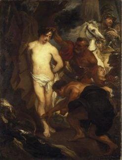The Martyrdom of Saint Sebastian | Anthony van Dyck | Oil Painting
