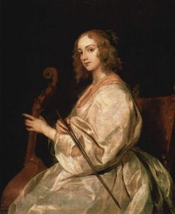 Portrait of Mary Ruthven | Anthony van Dyck | Oil Painting