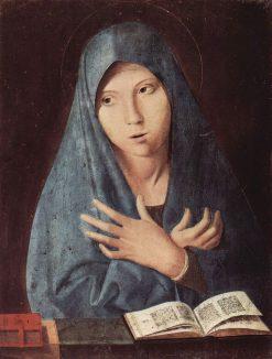 Virgin of the Annunciation | Antonello da Messina | Oil Painting