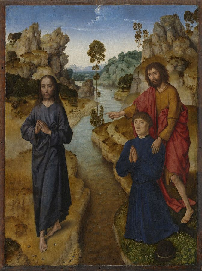 Ecce Agnus Dei | Dieric Bouts | Oil Painting
