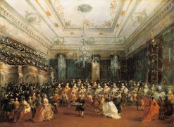 Ladies Concert at the Philharmonic Hall | Francesco Guardi | Oil Painting