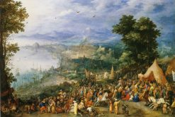 The Continence of Scipio   Jan Brueghel the Elder   Oil Painting