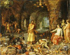 The Prophesy of Isaiah | Jan Brueghel the Elder | Oil Painting
