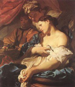 Death of Cleopatra | Johann Liss | Oil Painting