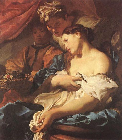 Death of Cleopatra   Johann Liss   Oil Painting