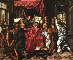 Death of the Virgin | Joos van Cleve | Oil Painting