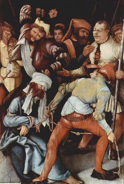 The Mocking of Christ | Matthias Grunewald | Oil Painting
