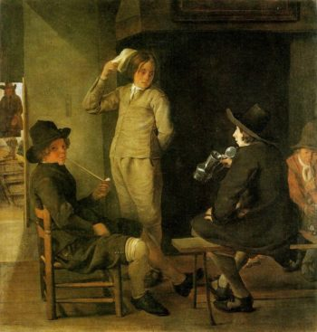 An Inn Parlour | Michiel Sweerts | Oil Painting