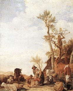 Peasant Family with Animals | Paulus Potter | Oil Painting