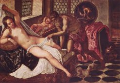 Vulcan Discovers Venus and Mars | Tintoretto | Oil Painting