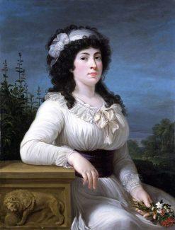 Maria Morigia Reina | Andrea Appiani | Oil Painting
