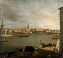 The Bacino di San Marco: Looking North | Canaletto | Oil Painting