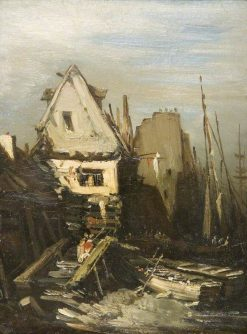 The Norman Port | Eugene Isabey | Oil Painting