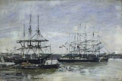 Bordeaux | Eugene Louis Boudin | Oil Painting