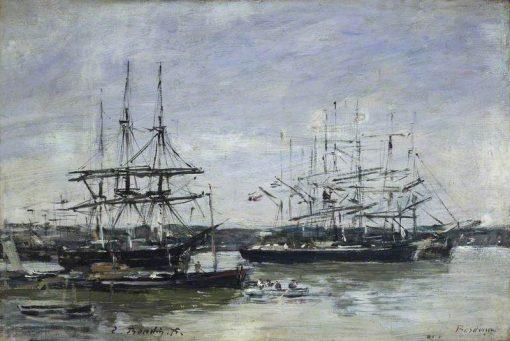 Bordeaux | Eugene Louis Boudin | Oil Painting