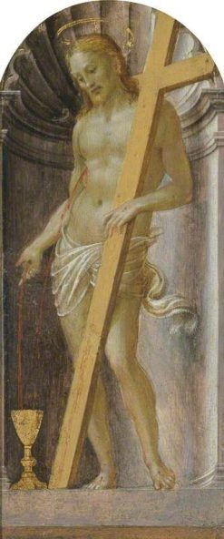 Christ the Redeemer   Francesco Granacci   Oil Painting