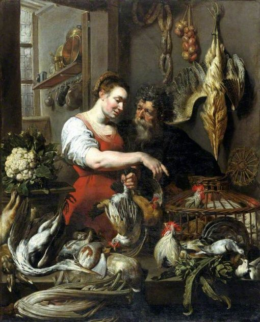 The Poulterer's Shop | Frans Snyders | Oil Painting