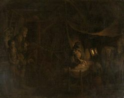 The Adoration of the Shepherds | Gerbrand van den Eeckhout | Oil Painting