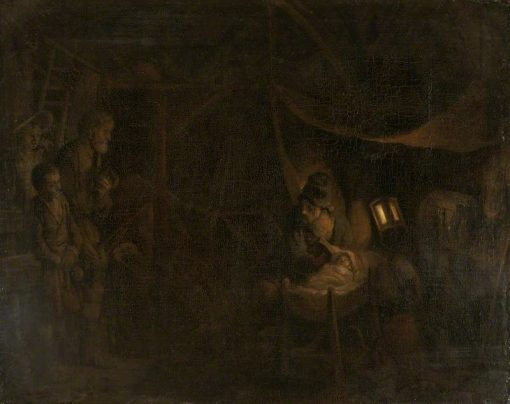 The Adoration of the Shepherds | Gerbrand van den Eeckhout | Oil Painting