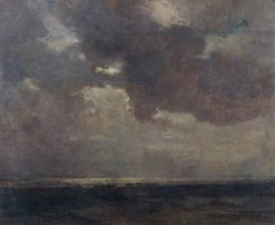 Moonlight by the Sea | Herbert Hughes Stanton | Oil Painting
