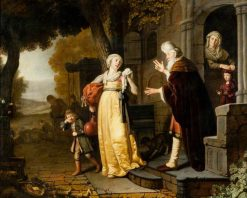 The Dismissal of Hagar | Jan Victors | Oil Painting