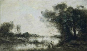 The Pond | Jean Baptiste Camille Corot | Oil Painting