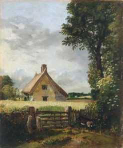 A Cottage in a Cornfield | John Constable | Oil Painting