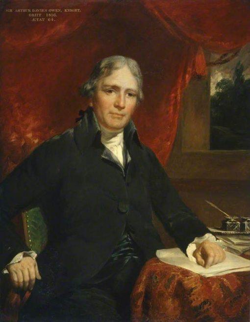 Sir Arthur Davies Owen | John Hoppner | Oil Painting