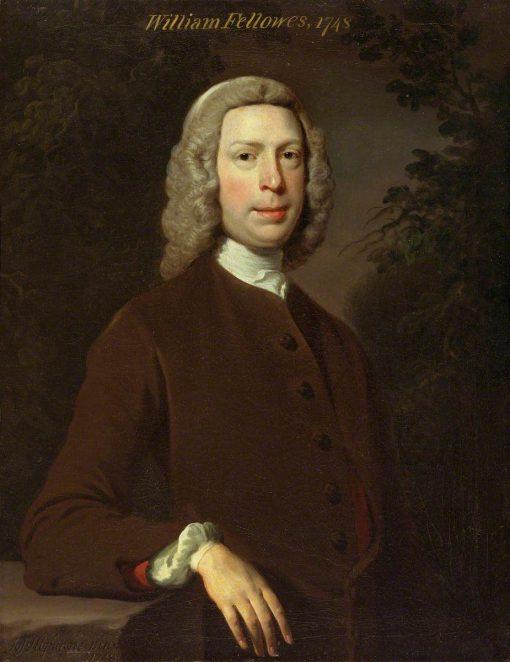 William Fellowes (1706-1775) | Joseph Highmore | Oil Painting