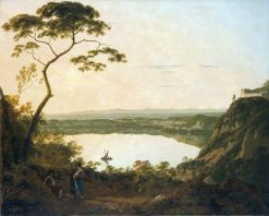 The Lakes of Albano | Joseph Wright of Derby | Oil Painting