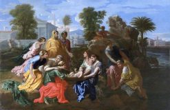 The Finding of Moses | Nicolas Poussin | Oil Painting