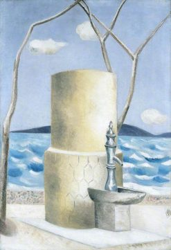 Plage   Paul Nash   Oil Painting