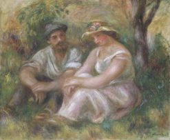 Conversation | Pierre Auguste Renoir | Oil Painting