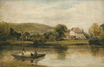 A Farm in Normandy | Richard Parkes Bonington | Oil Painting