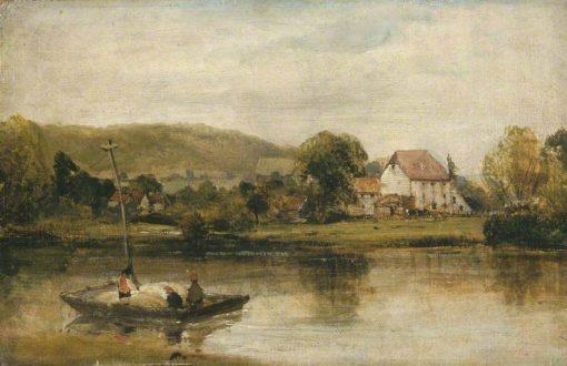 A Farm in Normandy | Richard Parkes Bonington | Oil Painting