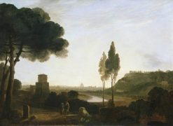 Rome from the Ponte Molle | Richard Wilson