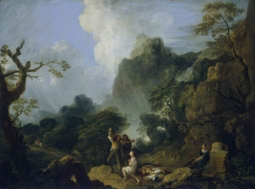 Landscape with Banditti: The Murder | Richard Wilson