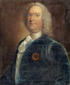 Richard Gwynne of Taliaris and Tregib (d.1752) | Robert Taylor | Oil Painting