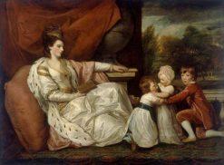 Charlotte (Grenville) Lady Williams-Wynne   Sir Joshua Reynolds   Oil Painting