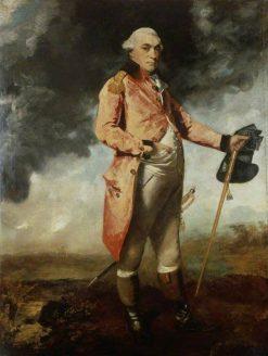 Major General George Catchmaid Morgan | Sir Joshua Reynolds | Oil Painting
