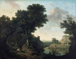 A Classical Landscape | Thomas Jones | Oil Painting