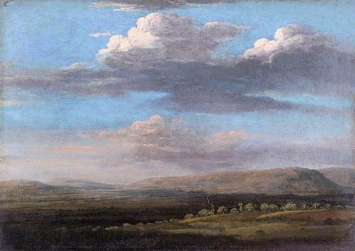 View in Radnorshire   Thomas Jones   Oil Painting